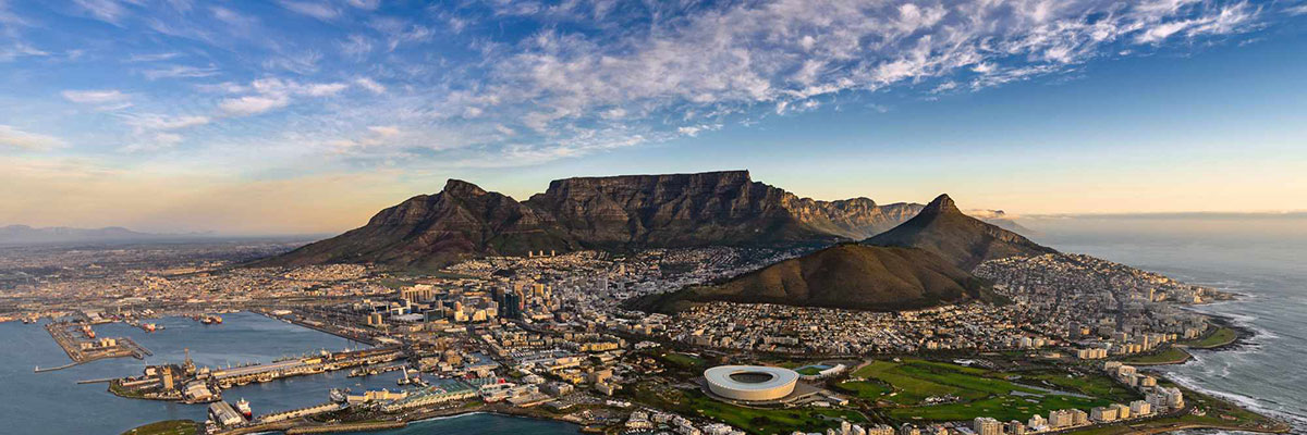 Overlook of Cape Town, Table Mountain