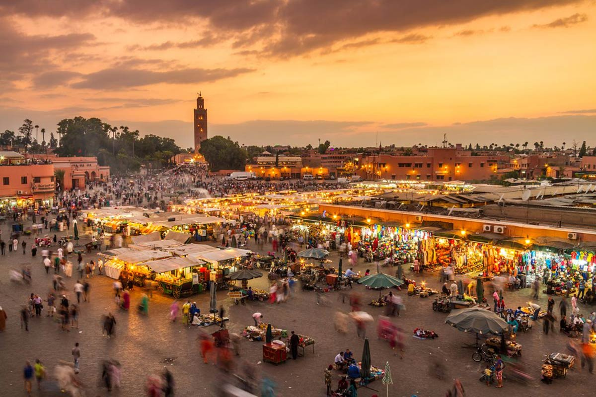 exploring the great city of Marrakech