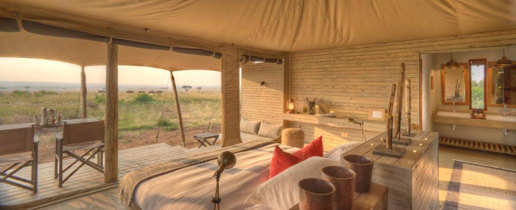 beautiful bedroom stay on safari