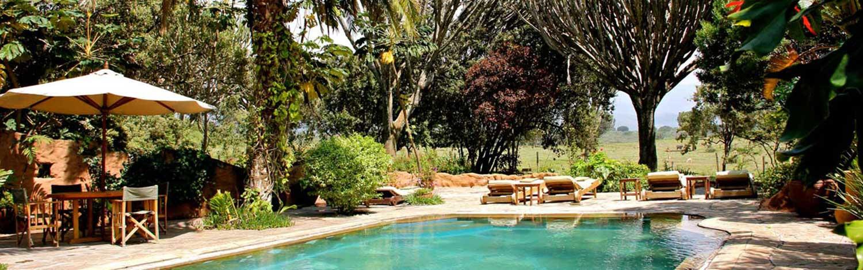 chui lodge pool